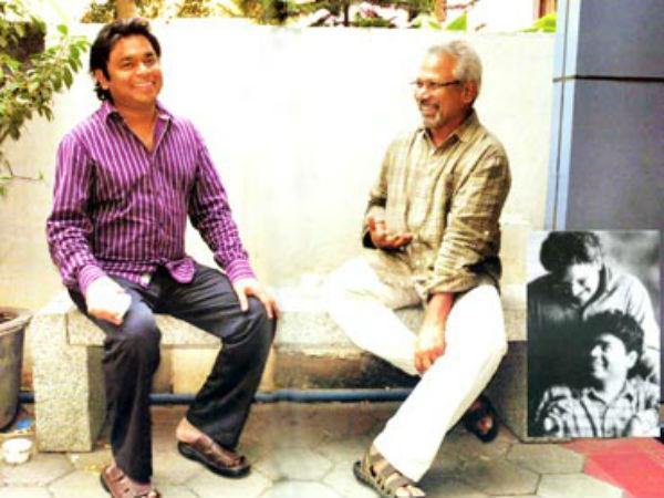 மணிரத்னத்துடன் ஃபர்ஸ்ட் மீட் :