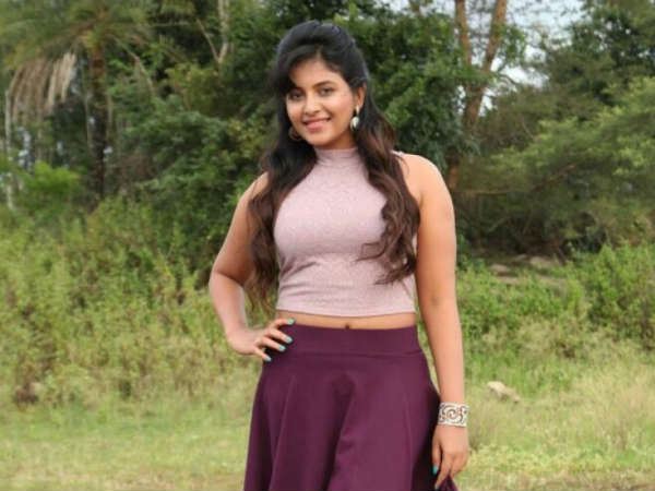 'Angaditheru' actress in kaali movie