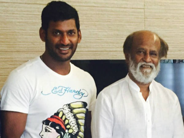 Rajini advices Vishal in Fefsi issue