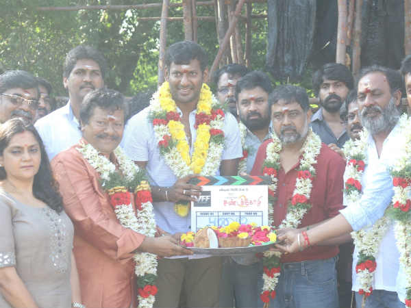 Vishal - Lingusamy's Sandakozhi 2 launched today