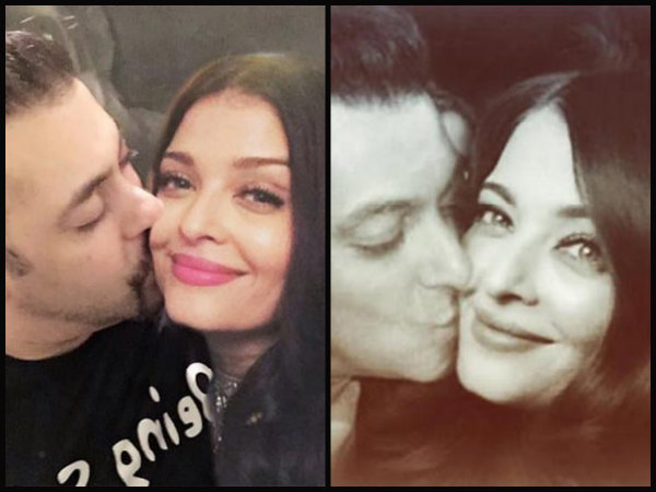Aishwarya Rai gets a Passionate Kiss - Photo goes Viral