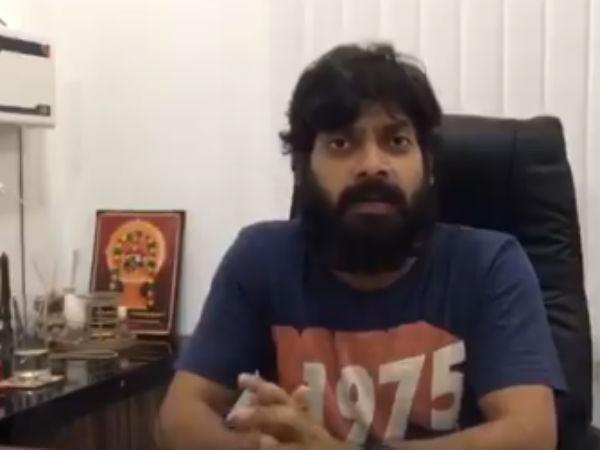 'மெர்சல்' ரிலீஸ் சிக்கலுக்கு அரசியலே காரணம் - நடிகர் வெளியிட்ட பரபரப்பு வீடியோ!