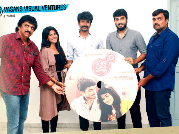 Sivakarthikeyan to launch Oru Pakka Kathai single