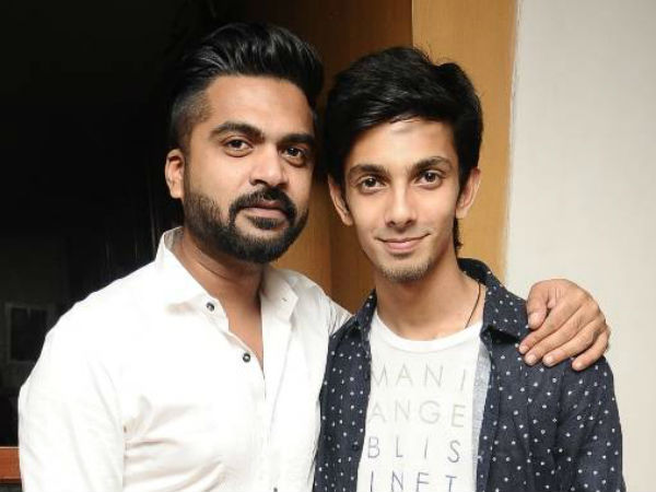 Simbu and anirudh join hands after beep song controversy