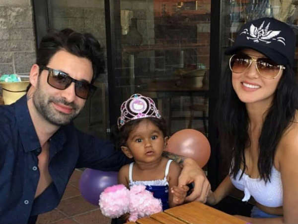 Sunny Leone celebrates daughter's birthday in Disneyland