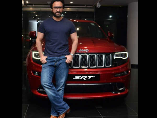 Saif Ali Khan gifts costly car to Taimur