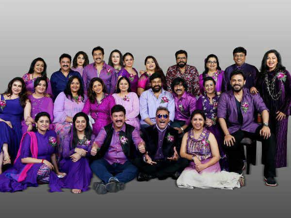 அந்தக்கால நடிகர் நடிகைகளின் ஆட்டம் பாட்டம் கொண்டாட்டம் - 80'ஸ் கெட் டுகெதர்!