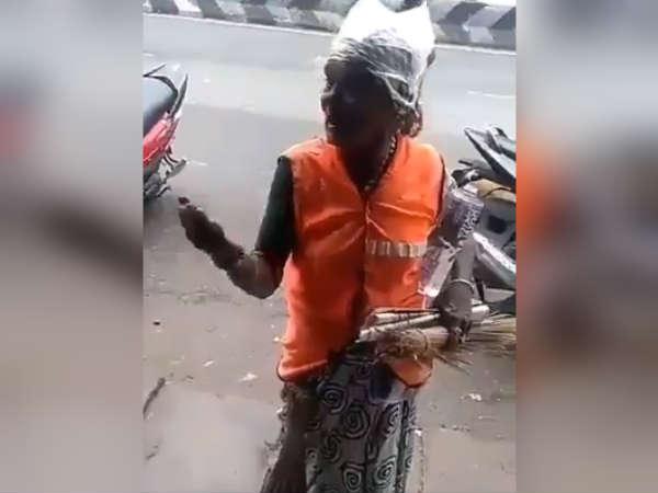 ஆத்தீ... இந்த பாட்டி கூட அஜித் ரசிகையா..? - அஜித்தை தப்பா பேசுனா சோடா பாட்டில் பறக்குமாமே!