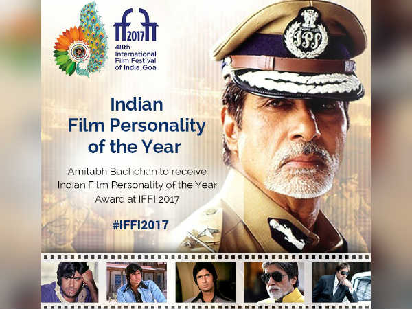 Amitabh Bachchan will be feted with the Personality of the Year Award