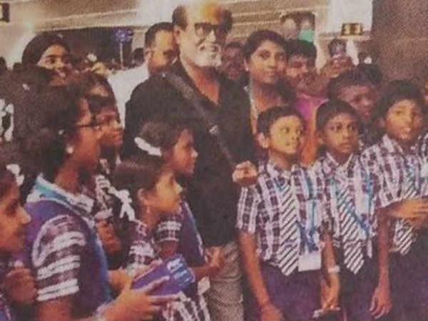 'அன்புள்ள ரஜினிகாந்துக்கு ஹேப்பி பர்த்டே'... 'தேங்க்யூ கண்ணுங்களா!'