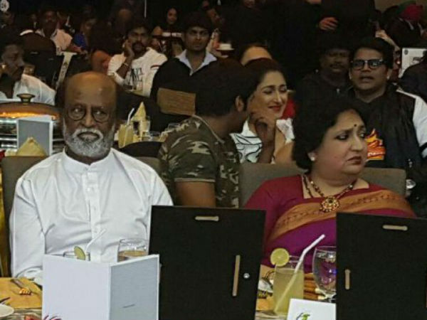Rajini reveals his first love