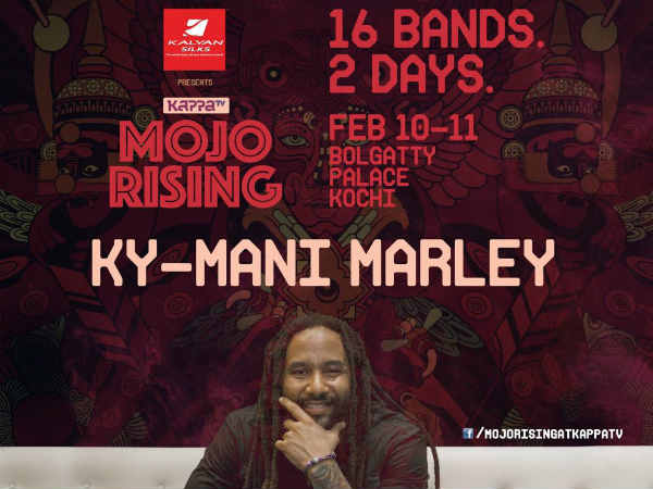 Murugan Manthiram's Song in front of The Legend Bob Marley's Son Ky Mani Marley!