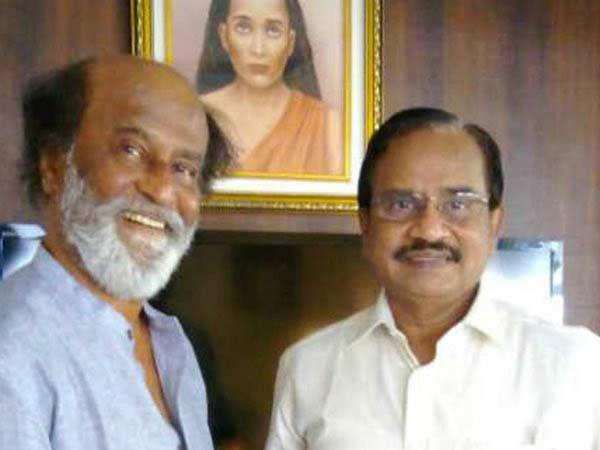 Image result for ரஜினி தமிழருவி மணியன்