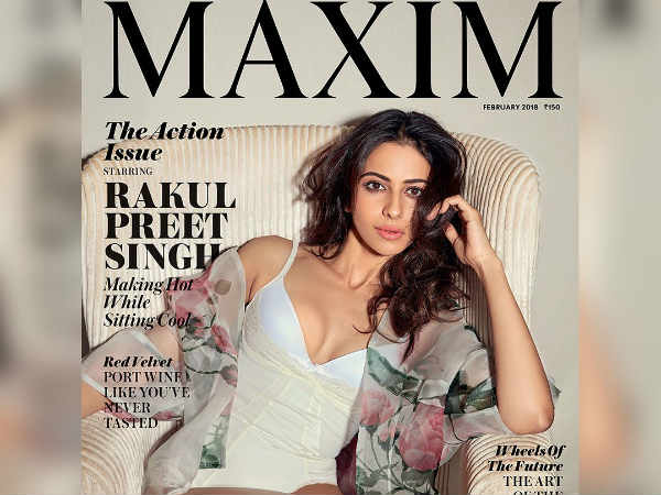 Rakul preet singh photo for maxim cover