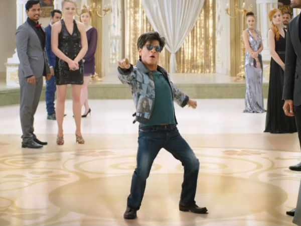 Actor Shah Rukh Khan acting as dwarf man in a movie named Zero