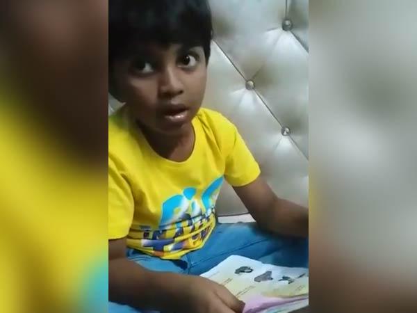 இப்படியொரு வெறித்தனமான விஜய் ரசிகனா...? - செம வைரலாகும் வீடியோ!