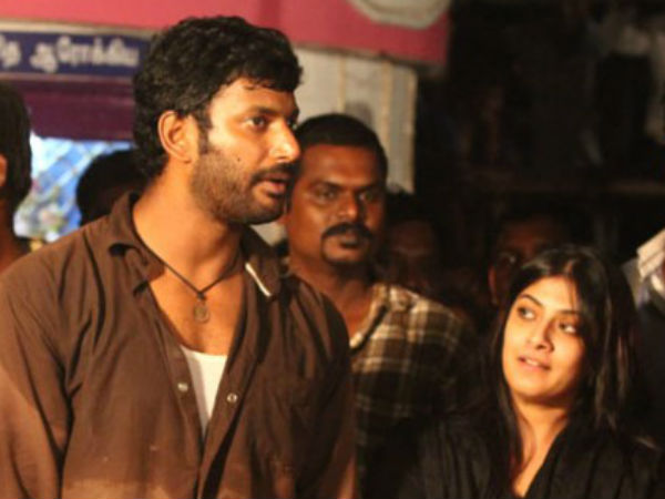 Is Varalakshmi giving trouble to Vishal?