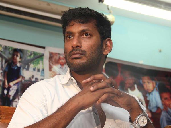 Vishal firm his stand against theater owners