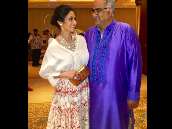 Boney Kapoor breaks the Silence on Sri Devi