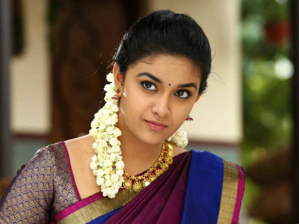 Keerthy all set to be Daughter-In-Law of Ex-Chief Minister