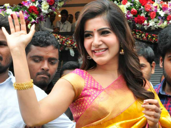 Samantha goes for a tour with her husband