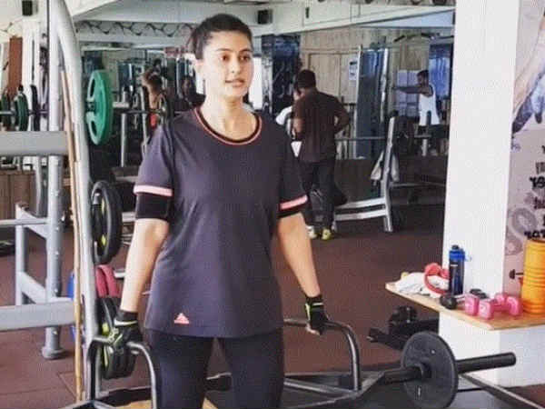 Sneha gym workout video goes viral