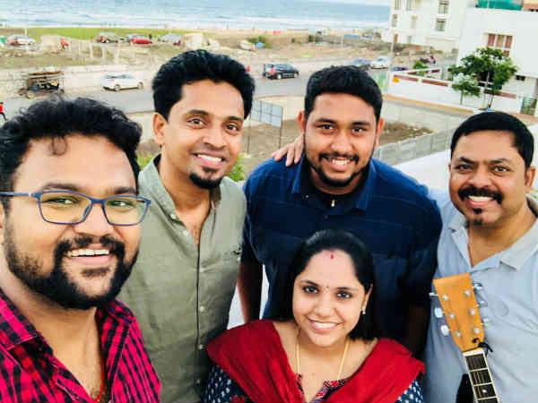 James vasanthan and saindhavi prakash makes cauvery song
