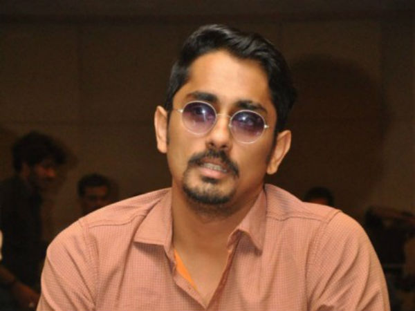 Actor Siddharth tweets on cauvery issue