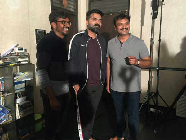 STR sings a kannada song for first time