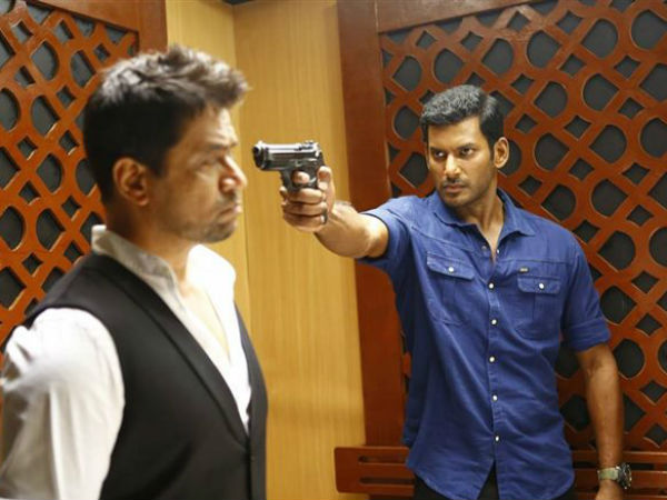 Irumbuthirai movie review