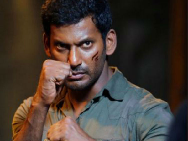 Vishal to screen first half of Irumbuthirai to media persons