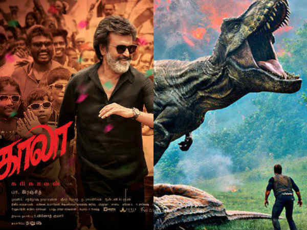 Jurassic world fights with kaala