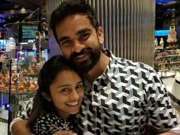 Singer Pragathi in love with him?