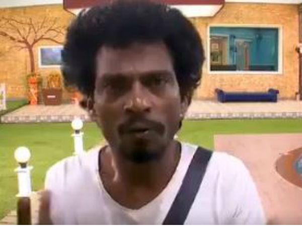 லுங்கி, அன்ட்ராயர் இல்லாமல் சென்றாயனை கதறவிட்ட பிக் பாஸ் #BiggBoss2tamil
