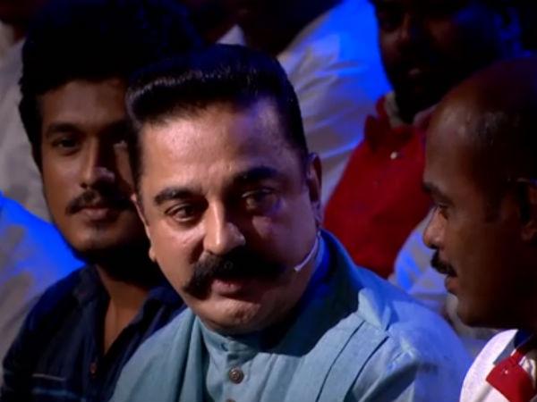 பிக் பாஸ் மேடையை பிக் பாஸுக்காக மட்டும் தான் பயன்படுத்துகிறீர்களா?: கமல் 'பலே' பதில்