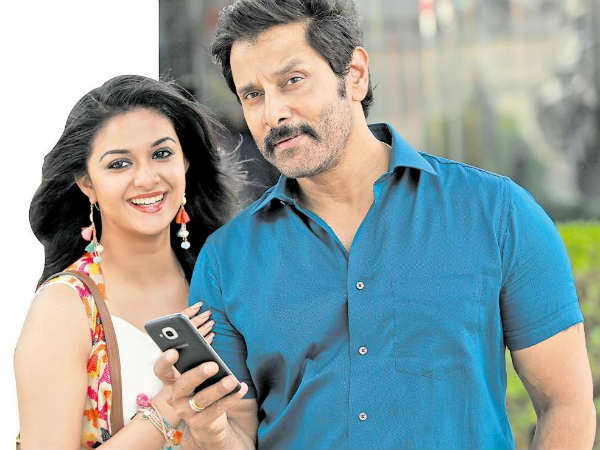 vikram, Keerthi joins for a song in Saamy 2