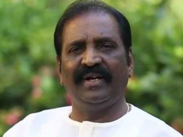 Lyricsist Vairamuthu Birthday today!
