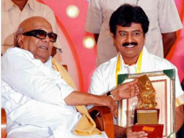 Actor Vivek shares his memorable picture with Kalaignar!