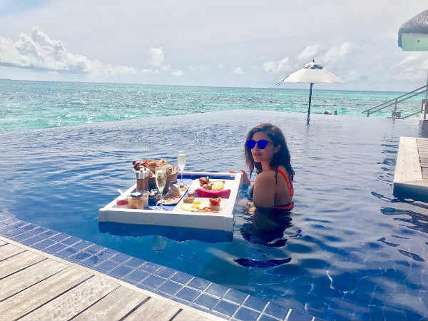 Parineeti Chopras floating breakfast!