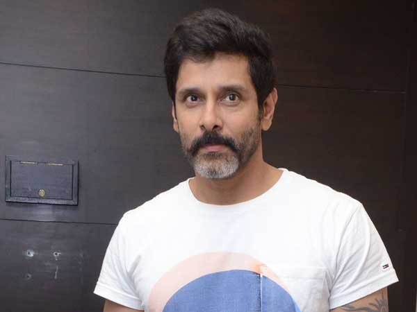 Not able to pay tribute to Karunanidhi in person: Vikram