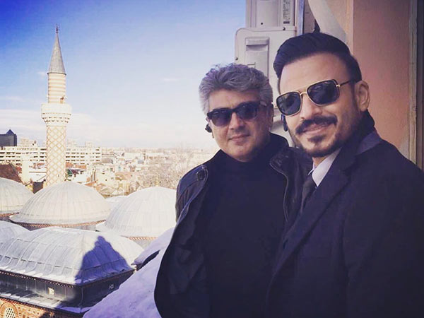 Vivek Oberoi shows his Viswasam for Thala!