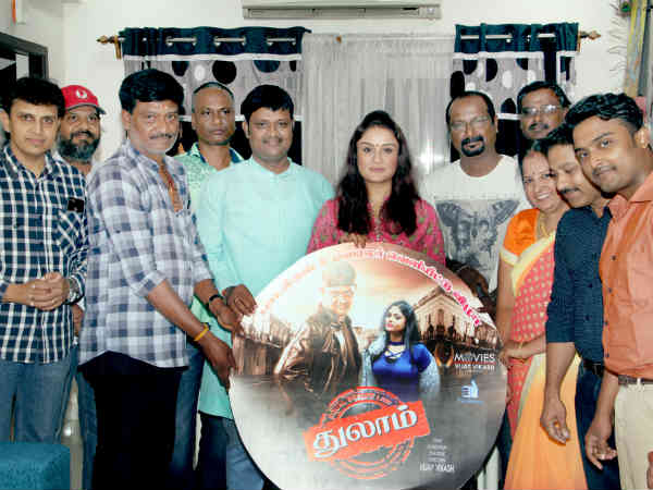 Actress Sonia Agarwal released thulam audio