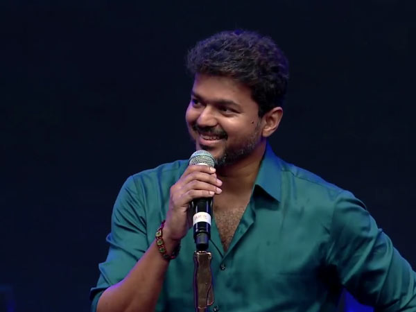 Actor Vijay representative clears about the rumor!