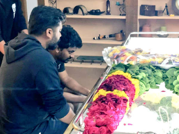 Director Nelsons father passed away: STR pays last respect