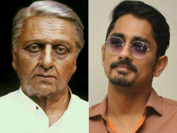 இந்தியன் 2: கமல் பேரன் சிம்பு இல்லையாம் சித்தார்தாம், அப்புறம்...
