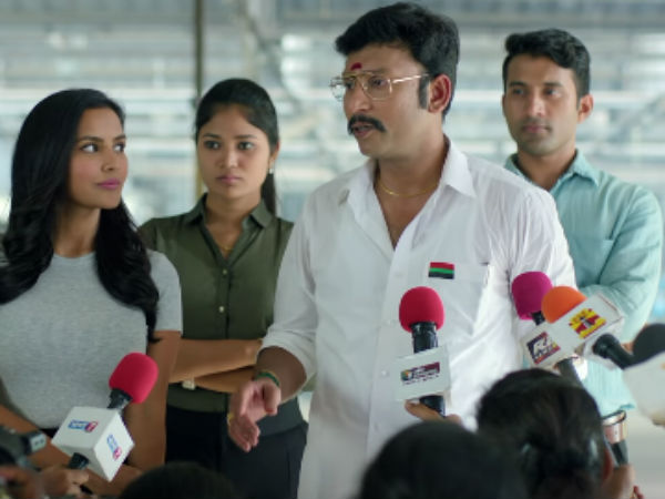 LKG review: Is RJ Balajis political satire worked out?