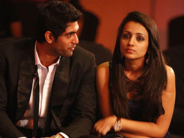 த்ரிஷாவும், ராணாவும் மீண்டும் காதலிக்கிறார்களா?: எல்லாம் 'அந்த ட்வீட்' தான் காரணம்