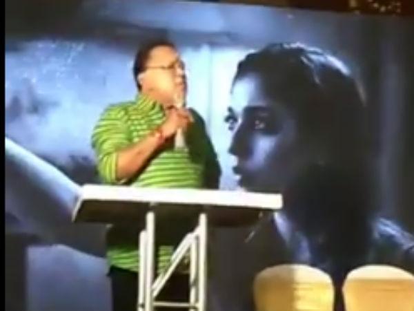 அதென்ன வாயா, கூவமா?: ராதாரவியை விளாசிய நயன்தாரா ரசிகர்கள்
