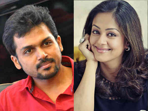 Karthi, Jyothika to act as siblings