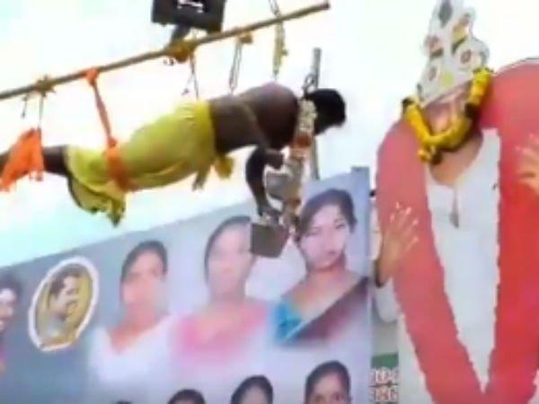 ரசிகர் செய்த மடத்தனத்தால் திட்டு வாங்கும் ராகவா லாரன்ஸ்